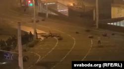 Belarus - first victim during protests against regime Lukashenko Minsk 11 August 2020