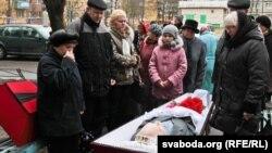 Разьвітаньне зь Віктарам Бяляцкім у Сьветлагорску