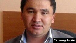 """Берик Жагипаров, главный редактор """"Молодежной газеты"""", Жезказган. Фото из его личного архива."""