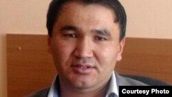 """Берик Жагипаров, главный редактор """"Молодежной газеты""""."""