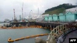 Pamje nga termocentrali ne Fukushima