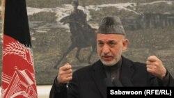 Афғонистон Президенти Ҳамид Карзай, Кобул ш., 2013 йил 14 январ.