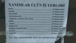 İşə düzəldən vasitəçi: 'Parametrlər uyğun gəlmir. Yaş fərqi var, yaş 18-25 olmalıdır'