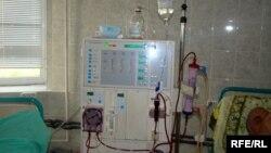 Gəncədə hemodializ mərkəzi.