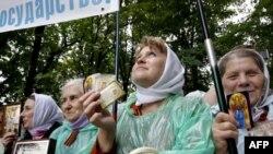 Не вся Украина ждала патриарха с радостью
