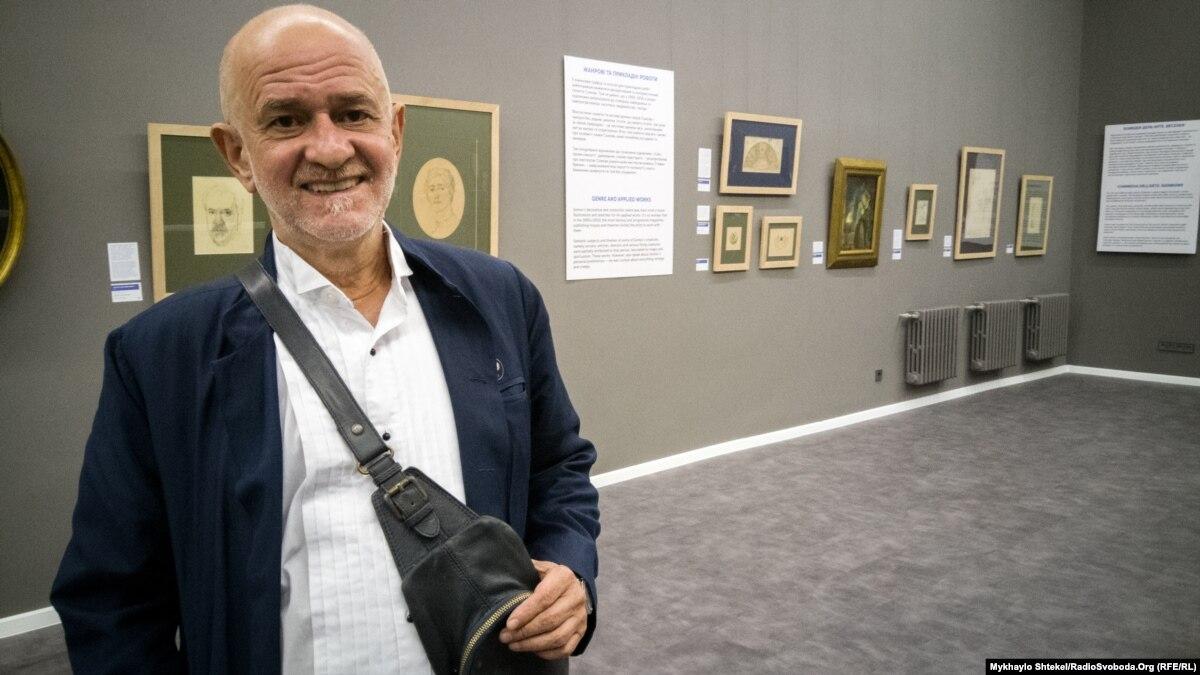 На юбилей Одесскому художественному музею подарили картину из музея современного искусства Одессы