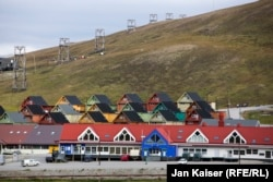 Норвежский поселок Лонгйир