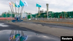 Нефтяной завод на месторождении Кашаган. Иллюстративное фото.