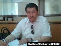 Адвокат Ермек Сыздыков. Астана, 13 июня 2014 года.