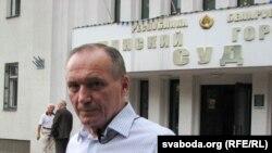 Belarusian opposition leader Uladzimer Nyaklyaeu
