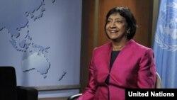 Komisionarja e lartë e OKB-së për të drejtat e njeriut, Navi Pillej