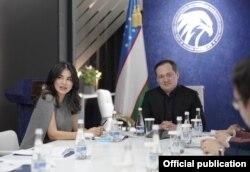 Allamjonov prezidentning to'ng'ich qizi bilan