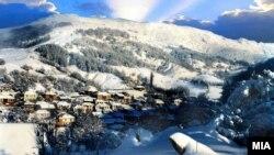 Fshat në Maqedoni