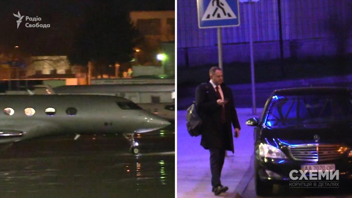 Председатель ОП Ермак возвращался из Минска частным самолетом, которым летает Пинчук, и не заплатил за это – «Схемы»