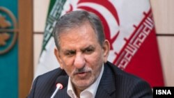 Iranian First Vice President Eshaq Jahangiri (file photo)
