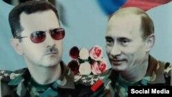 Асад и Путин: дружба навек.