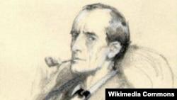 Şerlok Holmsun portreti, illüstrasiya