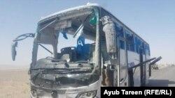 به بلوچستان کې د شوي برید عکس