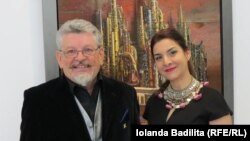 Michael Lassel cu Iolanda Badiliță