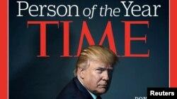 Фотографія Дональда Трампа на обкладинці Time після визнання його людиною року за версією видання