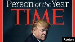 Donald Trump na naslovnici TIME-a 2016., kao ličnost godine u izboru poznatog magazina