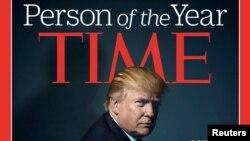 Дональд Трамп стал человеком года журнала Time