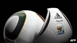 На презентации Джабулани - официального мяча чемпионата мира по футболу 2010