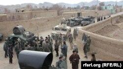 آرشیف، نیروهای امنیتی در فاریاب