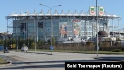 """""""Ахмат-Арена"""" стадион, Соьлж-ГIала."""