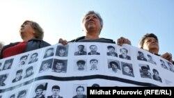 Prijedorčani protestuju zbog ukidanja presude za Korićanske stijene