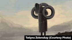 Сузактагы кордук көргөн аялдын окуясынан кийин Татьяна Зеленская тарткан сүрөт.