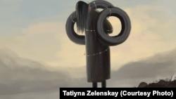 Зомбулук көргөн аялдарга арналган иллюстрация. Автору - Татьяна Зеленская.