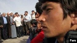 پناهندگان افغان در یکی از اردوگاه های ایران