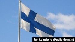 Flamuri i Finlandës, fotografi nga arkivi.