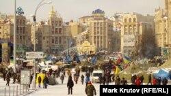 Евромайдан в конце января