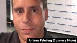 Former Sputnik journalist Andrew Feinberg (file photo)