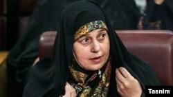 Iranian lawmaker Parvaneh Salahshuri