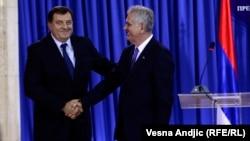 Tomislav Nikolić i Milorad Dodik, Beograd, 31. oktobar 2013.