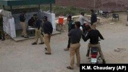 شماری از منسوبین پولیس پاکستان