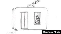 رسم كاريكاتيري لعبد الرحيم ياسر