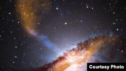 سیاهچاله فضایی