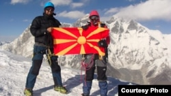 Алпинистите Илина Арсова и Илија Ристовски на Хималаите