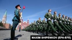 Парад Победы на Красной площади в Москве (Архивное фото)