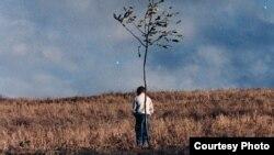 """صحنهای از فیلم """"زندگی و دیگر هیچ"""" ساخته عباس کیارستمی"""