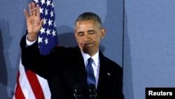 Барак Обама, 20 января 2017 года.