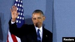 Барак Обама, 20 января 2017