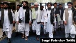 د افغان سولې لپاره له امریکا سره د طالبانو مذاکره کوونکی ټيم