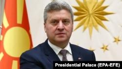 Герге Иванов, Македония президенті.