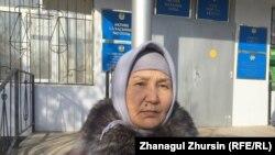 Жанаргуль Бегимбетова, жительница села Кенкияк Темирского района Актюбинской области. 30 января 2018 года.