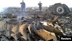 Ուկրաինա - Կործանված Boeing 777-ի բեկորները, Դոնեցկի մարզ, 17-ը հուլիսի, 2014թ․